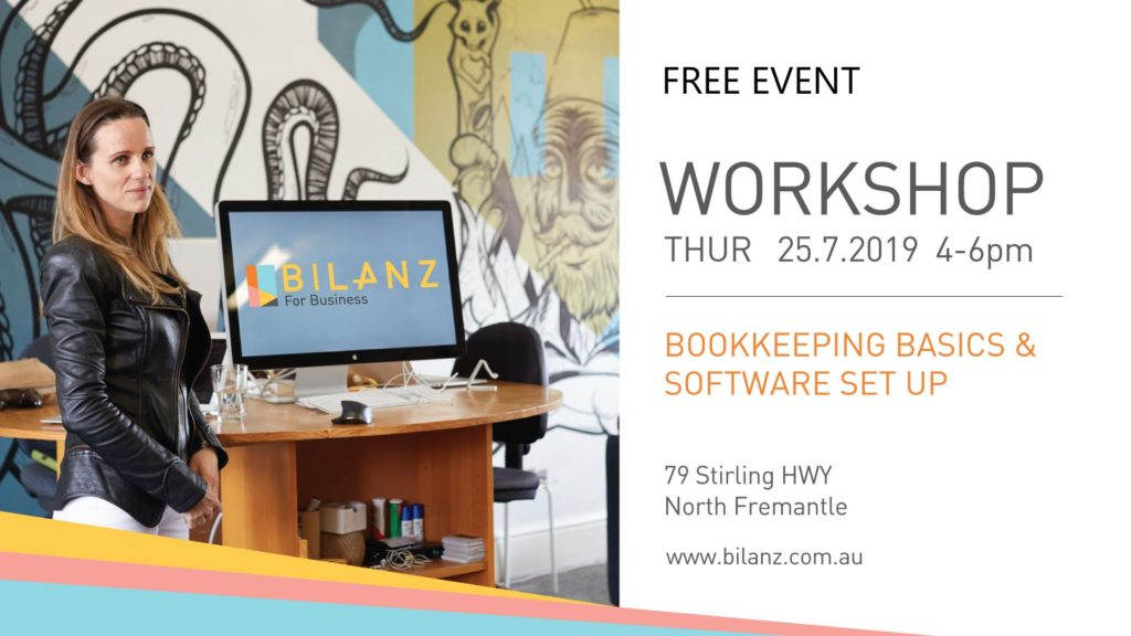 Bookkeeping Workshop in July for Bilanz